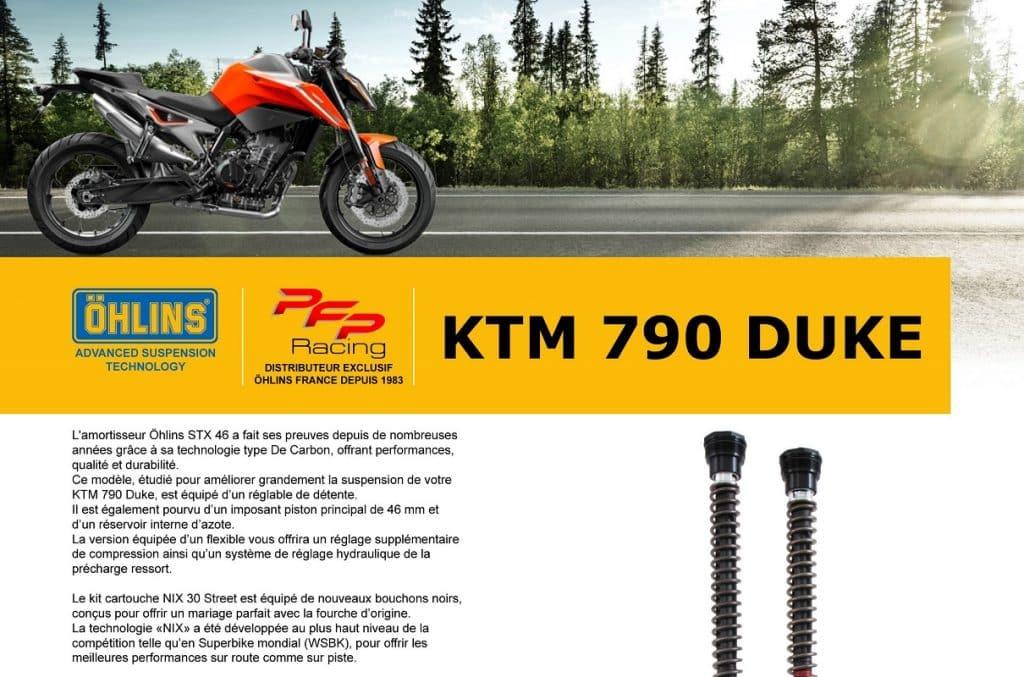 Kit suspensions Ohlins Vignet10