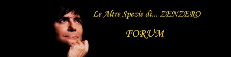 Forum gratis : Il forum per parlare di Renato Zero Banner10