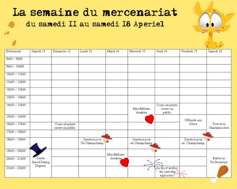 La semaine du mercenariat Planni11