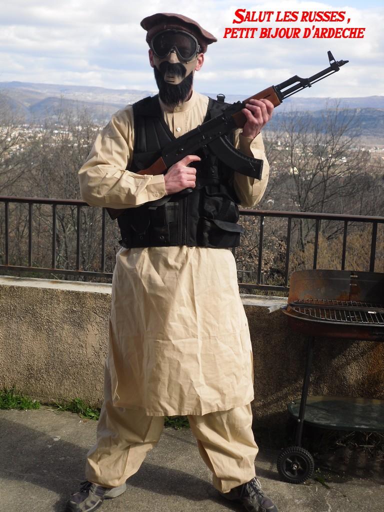 Tenue VDV inspirée de la Guerre d'Afghanistan Ardech10