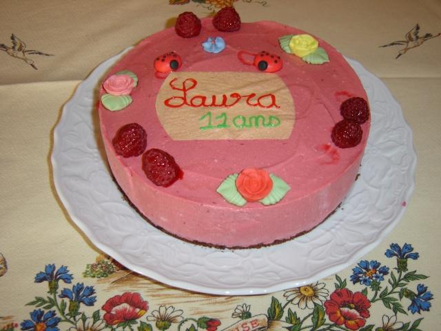 Entremet chocolat et framboise Dsc04410