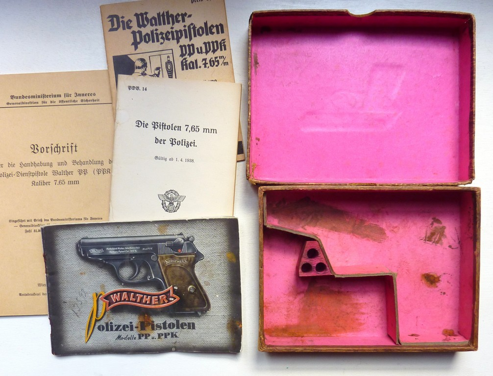 Boites, manuels Walther PPK Acces_12