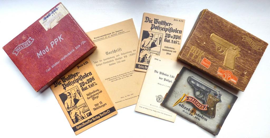 Boites, manuels Walther PPK Acces_15