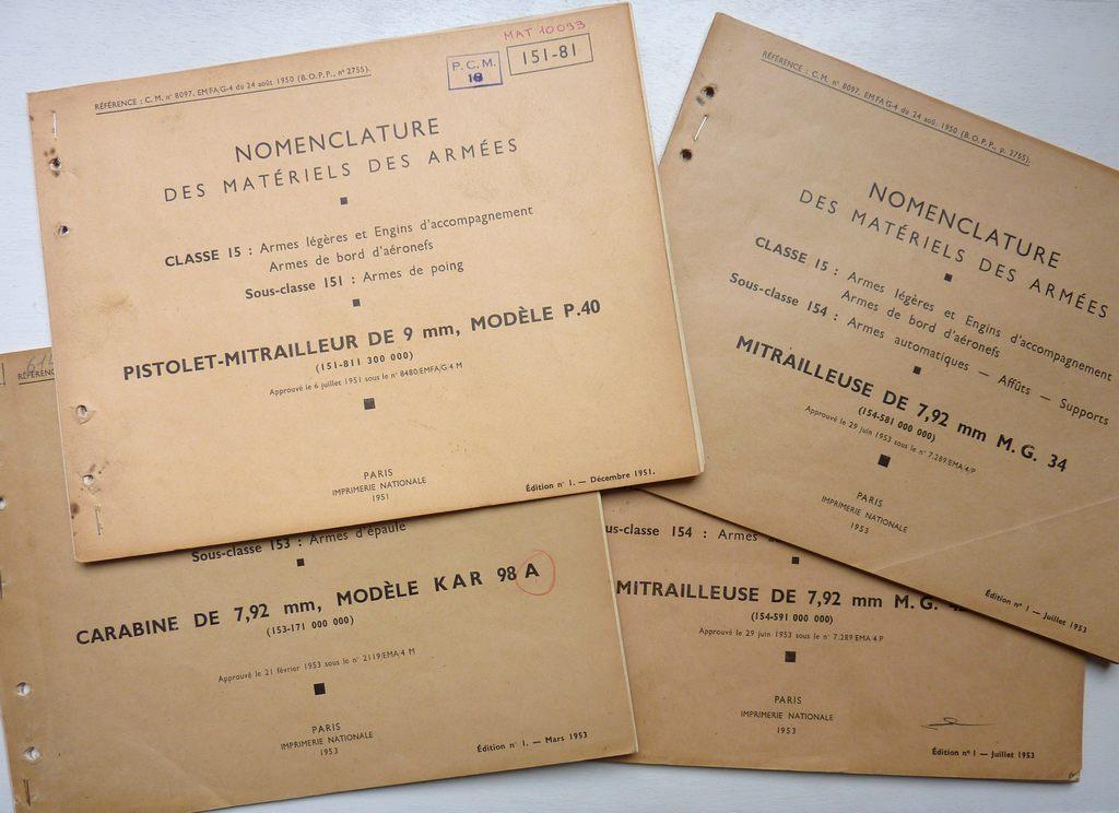 Les livrets  manuels  du gewehr / karabiner 98k Ensemb14