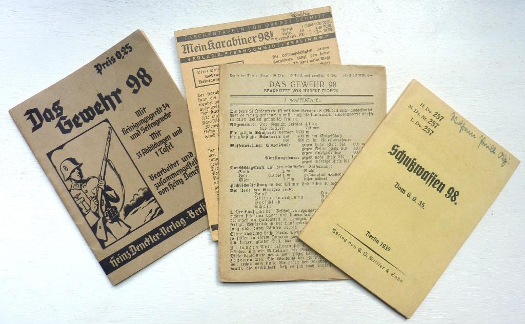 Les livrets  manuels  du gewehr / karabiner 98k Manuel14