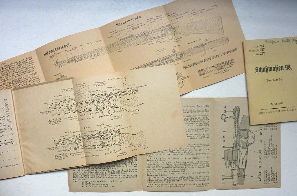 Les livrets  manuels  du gewehr / karabiner 98k Manuel15