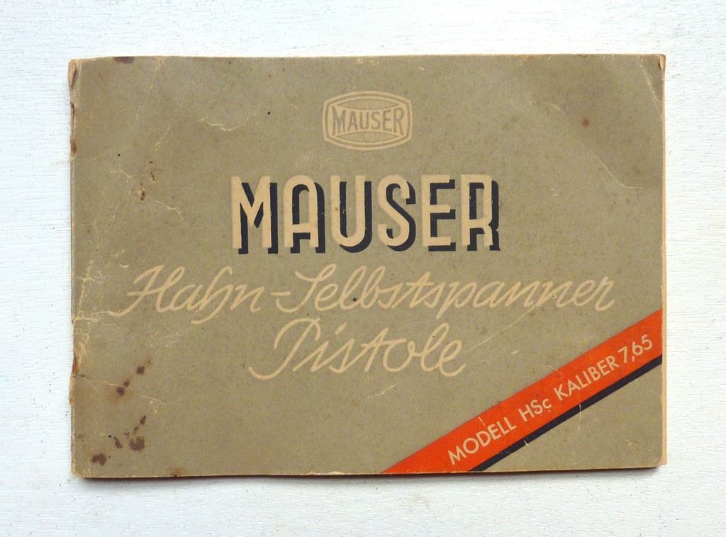 Manuel Mauser HSc 7,65mm P1070310