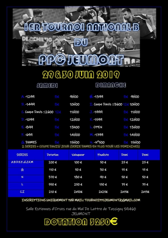 1er tournoi national du PPC JEUMONT LE 29 et 30 juin 2019 !! Fb_img11