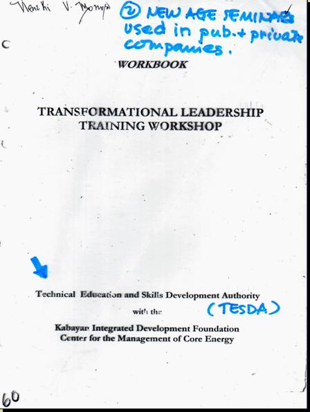 ONE WORLD MIND - ONE WORLD EDUCATION CONTROL OF CHILDREN IN NEW AGE CURRICULA, CONTROL OF YOUTH AND PEOPLES OF THE WORLD) A10