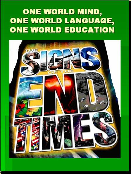 ONE WORLD MIND - ONE WORLD EDUCATION CONTROL OF CHILDREN IN NEW AGE CURRICULA, CONTROL OF YOUTH AND PEOPLES OF THE WORLD) A2210