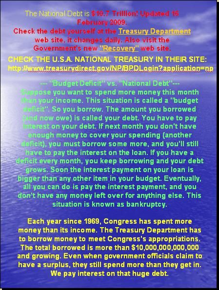One World Market & Currency - CAUSES FOR DOLLAR DECLINE Pnypd_86