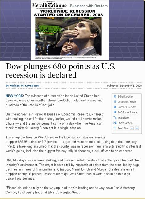 One World Market & Currency - CAUSES FOR DOLLAR DECLINE Pnypd_98
