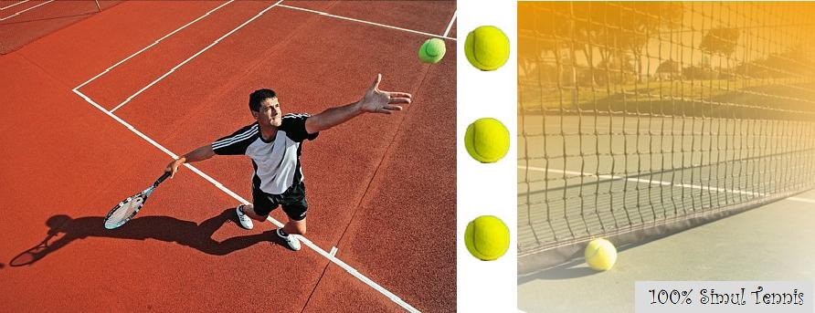 100% Simulation Tennis