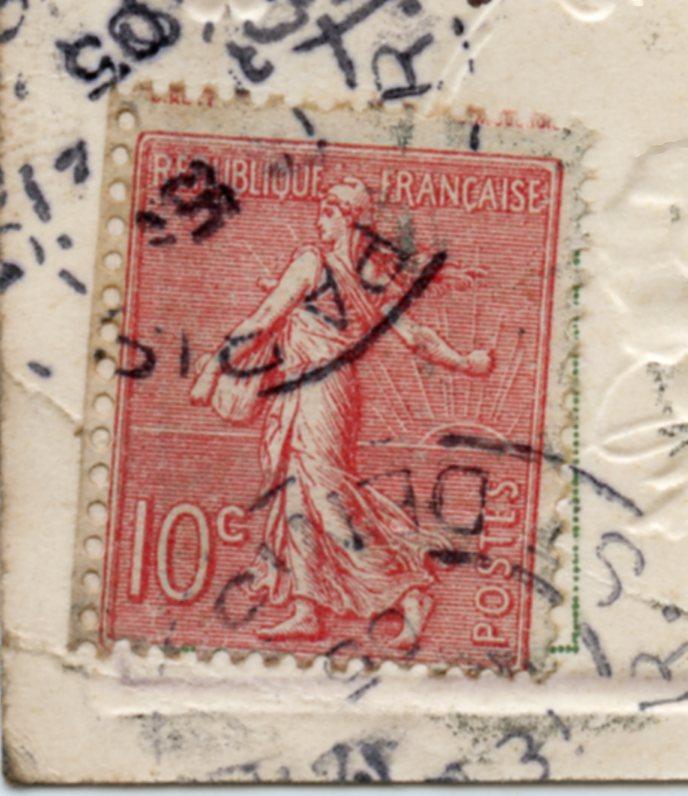 un nom particulier pour expliquer la dentelure de ce  timbre. Site0312