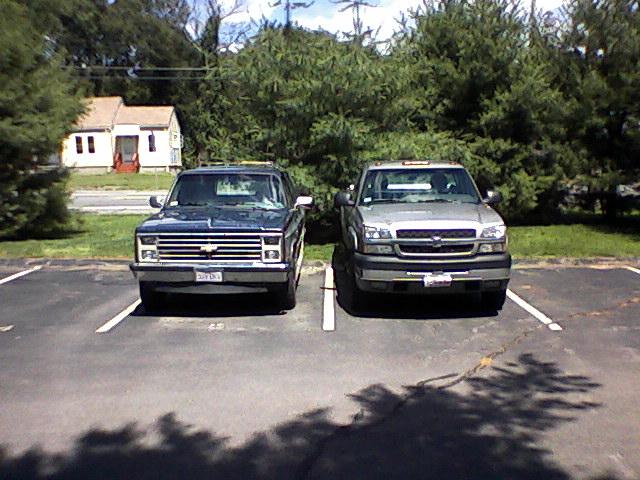My trucks. Double10