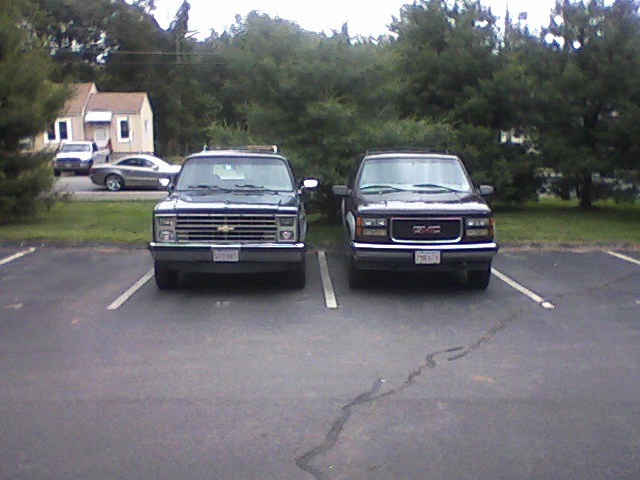 My trucks. People10