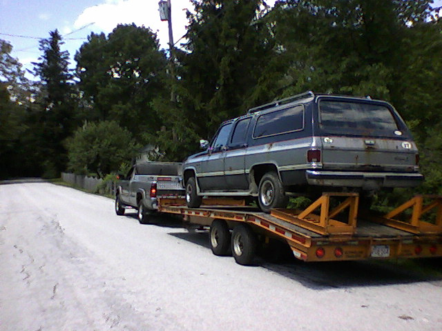 My trucks. Suburb11