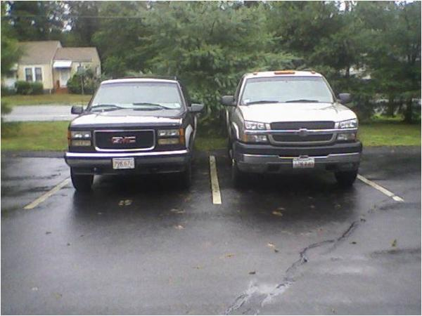 My trucks. Suburb13