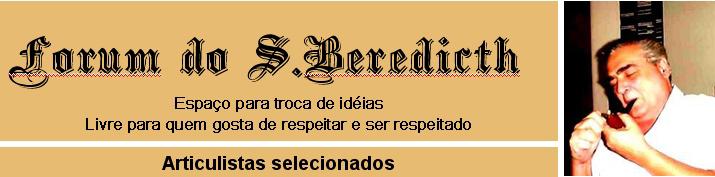 FORUM DO BEREDICTH - COMENTARISTAS SELECIONADOS