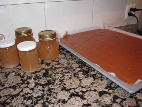 [sucré] Gelée et pâtes de fruit au coings Img_0828