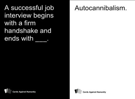 Cards against humanity Humani10
