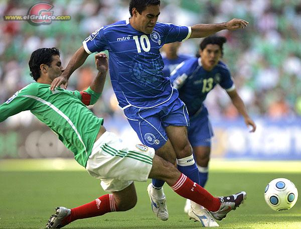 Rumbo a la Copa Mundo 2010: El Salvador 1 Mexico 4. Cm10-h12