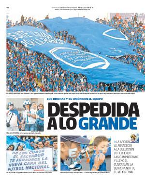 Rumbo a La Copa Mundo 2010: El Salvador 0 Honduras 1. Edh20010