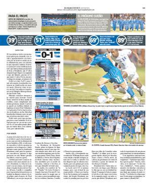 Rumbo a La Copa Mundo 2010: El Salvador 0 Honduras 1. Edh20012