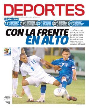 Rumbo a La Copa Mundo 2010: El Salvador 0 Honduras 1. Edh20013