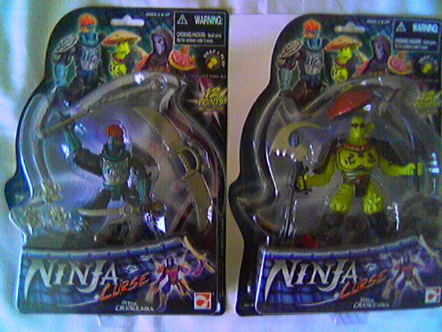 NINJA WARRIORS / Ninja  (Hasbro) 1986-1987 Cam00022