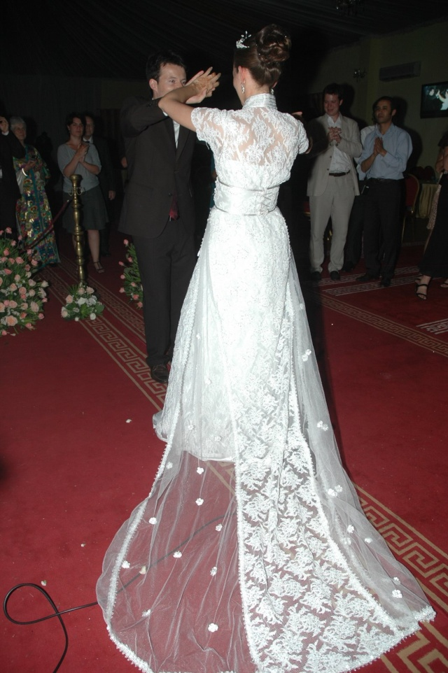 Robe Blanches Version Caftan Dsc_4311