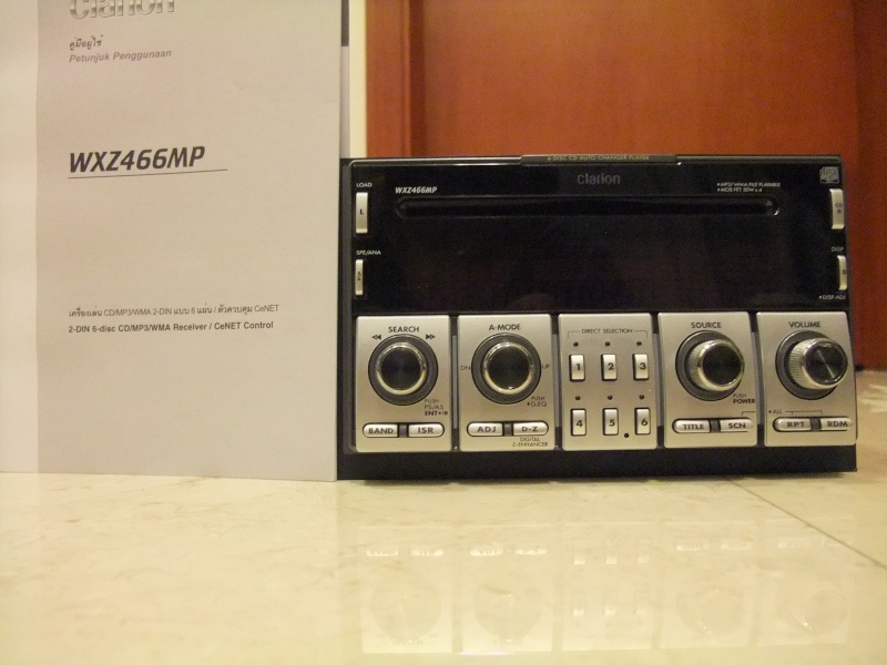 Clarion WXZ466MP 6-Disc CD/MP3/WMA receiver (Used) SOLD Dscf1110