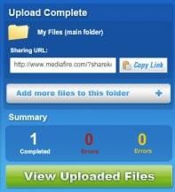 Héberger et partager un fichier en ligne 12