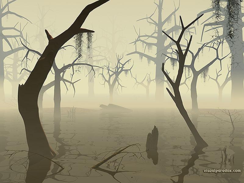 Village Hidden in the Swamps