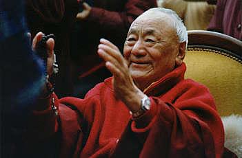 Mon Lama Racine un être extraordinaire, j'ai nommé lama Guendune Rimpoché... Guendu10