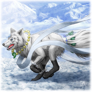 ~*~ The Queen Arrives ~*~ A_wolf10