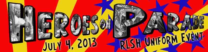 Heroes on Parade - Calling All RLSH Heroes12