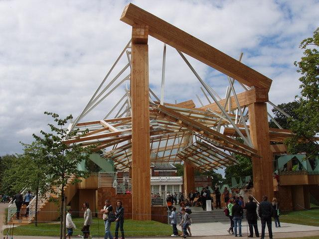 Evolution des pavillons d'été de la Serpentine Gallery à Londres - Royaume-Uni 89082010