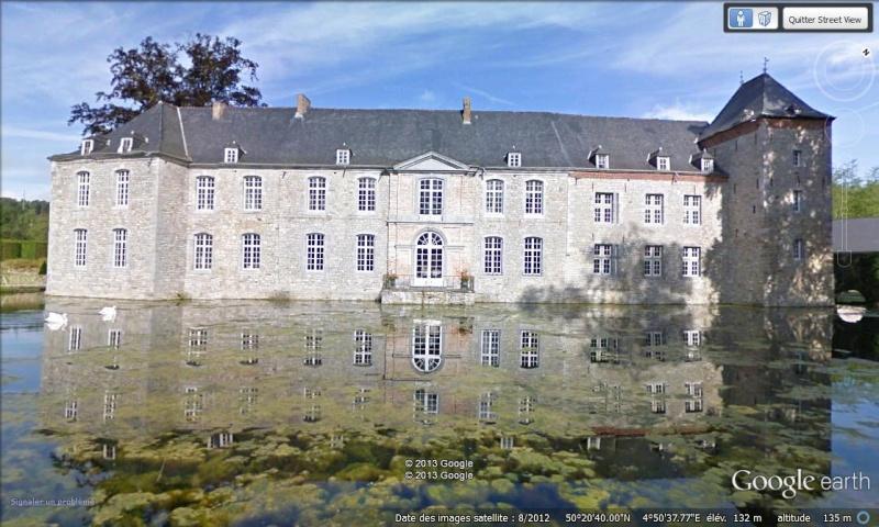 STREET VIEW : les parcs de grands châteaux de Belgique désormais disponibles ! Annevo10