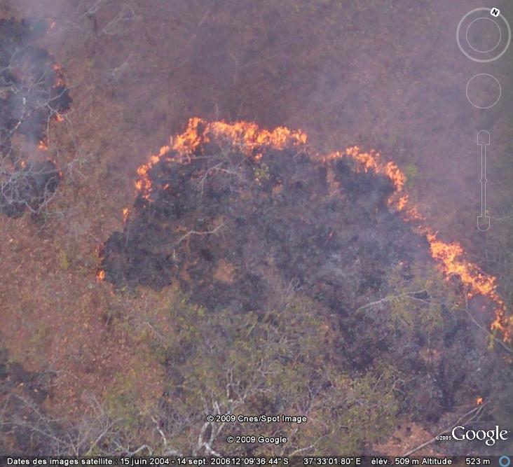 incendies - Au feu ! !  [Les incendies découverts dans Google Earth] - Page 5 Feu16