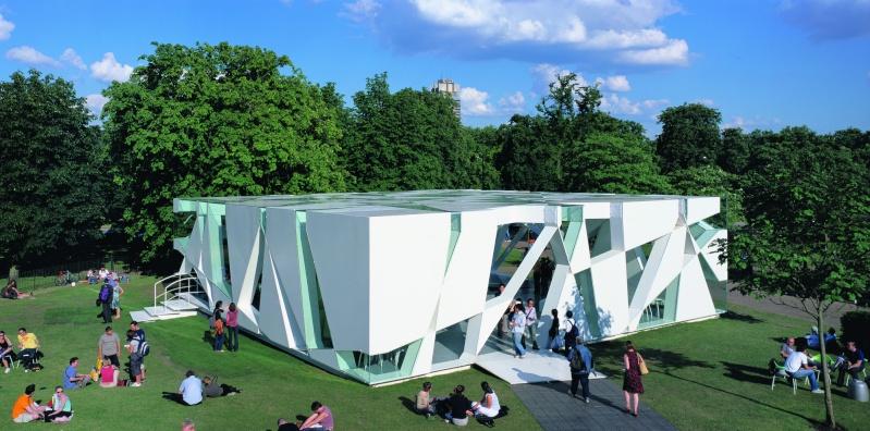 Evolution des pavillons d'été de la Serpentine Gallery à Londres - Royaume-Uni Fxhx_110