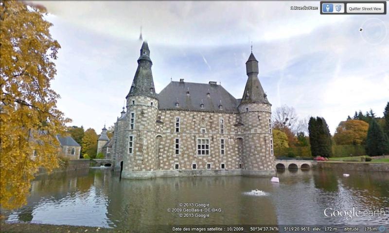 STREET VIEW : les parcs de grands châteaux de Belgique désormais disponibles ! Jehay10
