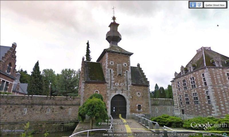 STREET VIEW : les parcs de grands châteaux de Belgique désormais disponibles ! Jehay_10