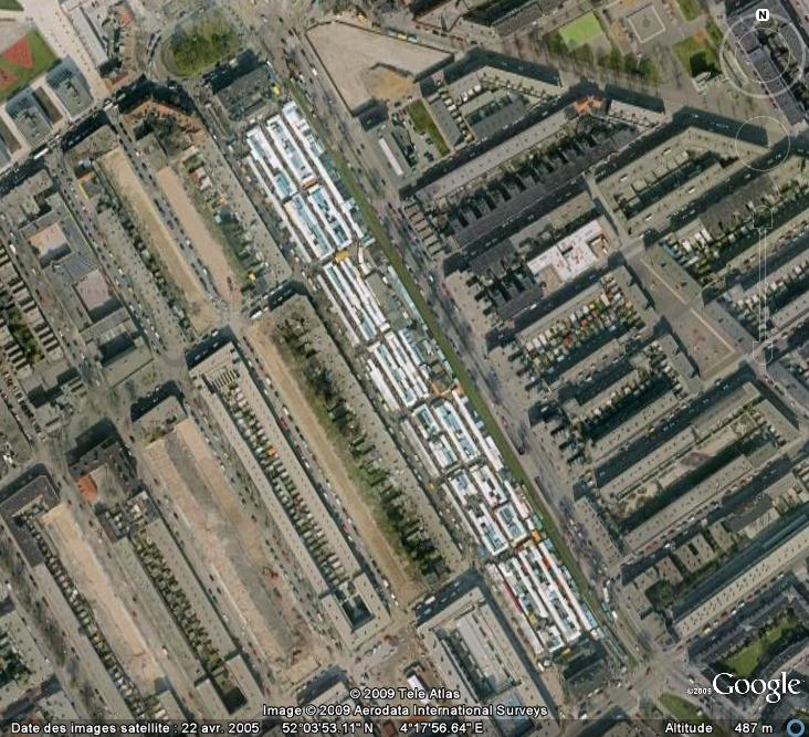 Marchés et Brocantes sur Google Earth Marcha11