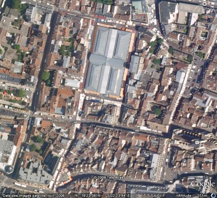 Marchés et Brocantes sur Google Earth Marcha12