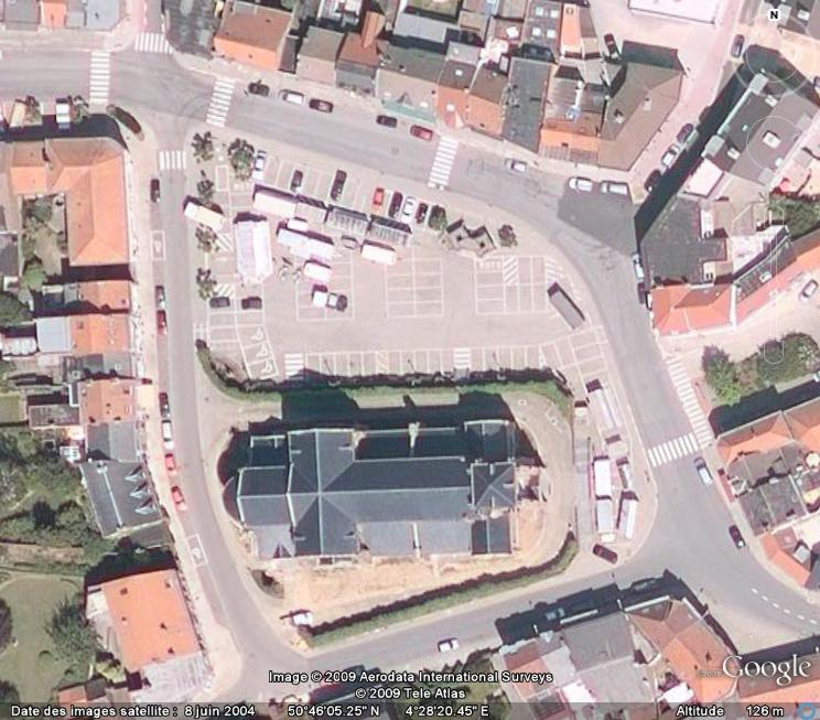 Marchés et Brocantes sur Google Earth Marcha15