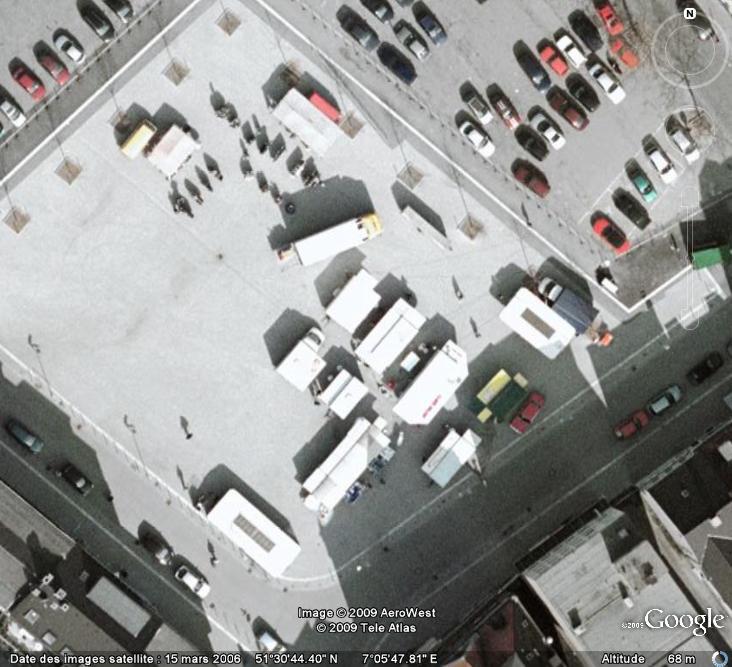 Marchés et Brocantes sur Google Earth Marcha18