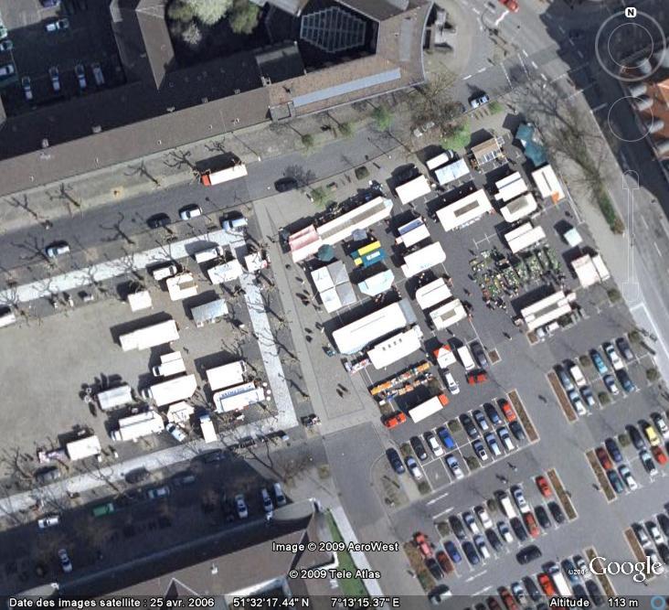 Marchés et Brocantes sur Google Earth Marcha23