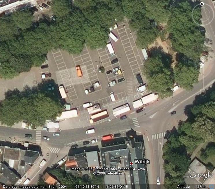Marchés et Brocantes sur Google Earth Marcha26