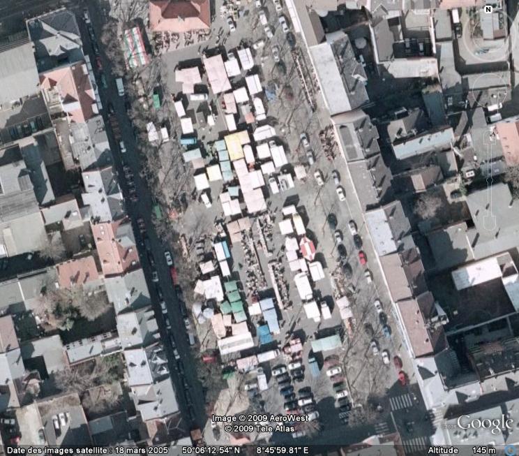 Marchés et Brocantes sur Google Earth Marcha27